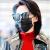 サングラスのレイディレンズの女性の新型リベットの板は音ネットの赤いとシリズの韓国版の潮偏光の眼鏡の女性の黒色の平均コードを震わせます。