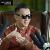 フェグデニム偏光サングラス男性の孫紅雷とシリズサングラスのトレンド復古の大きな枠のサングラス運転手の鏡黒金(度数なし太陽レンズ)