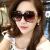 サングラススの女性フルーション2019円の颜の长い颜の优雅な个性と快适な前卫サングレスの女性の颜の韩国偏光运転サー黒+豪华なパンキング+アクサをプロモーションします。