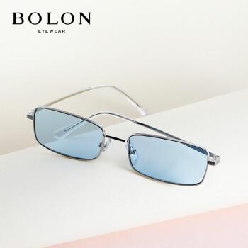暴竜の眼鏡の2019年の新型のサングラスの中性の金の個性的な潮流の四角形のサングラスのBL 7071 B 90-は青いです