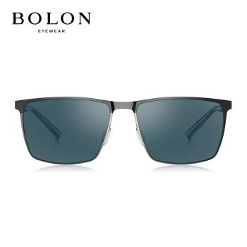 暴竜の眼鏡の男性の高清の偏光のサングラスの年の新型の心地良い枠のサングラスの運転手の鏡BL 8039 C 10-鏡の枠のかすれている黒/レンズの青い灰色