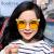ソフGree子供用サングラスサングラスサングラス男女の子供の偏光紫外線カットカットメガネの日焼け止めファッションかわいいモデルG 1993 T 1金灰