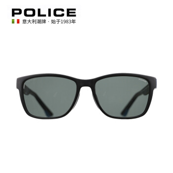 POLICEメガネサングラス中性春夏用マット黒板サングラスSPLA 68 J 55 U 28 Z