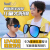 healbud子供用サングラス男の子と女の子の偏光紫外線カットカットサングラス飛行モデル赤ちゃんサングラス日焼け防止幼児3歳-7歳ファッション黒