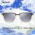 Shinneye夏恩サングラスサングラスサングラスサングラスサングラスのサングラス男レディディ・スウェン偏光レトロな車用サングラスS 3160 Col.0ダミー黒チタンフレーム+ダークグレーナイロン偏光シート