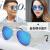 亨亜晟サングラス男女のファッションが多彩で、ティアルドロックドライバーの夜視鏡復古反射ミラーサングラス黒枠/黒灰片+鏡布+鏡袋